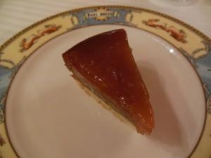 Dessert: Tarte tatin