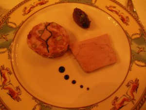 Forrett: Dodine de canard med fiken og balsamico