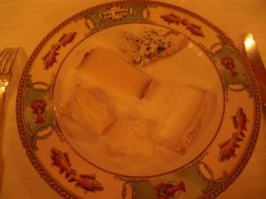 Ost: Ferdig anrettet på tallerkenen