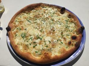 Pizza: Quattro formaggi