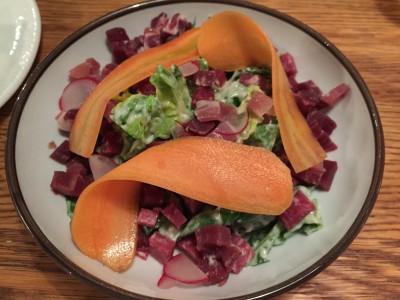 Rett 1: Fenalår, salat og remulade