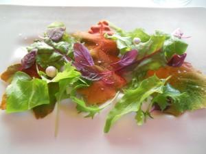 Rett 1 Foie gras med salat