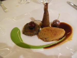 Rett 4 Racan-due med pastilla, ertepure og kirsebær