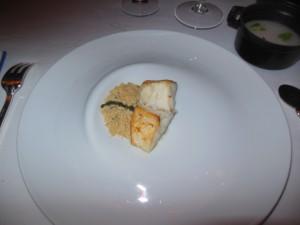 Rett 5 Ukjent fisk med couscous