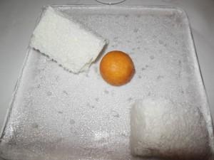 Rett 7 Xaxu med kokosiskrem