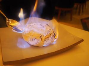 Flambering ved bordet