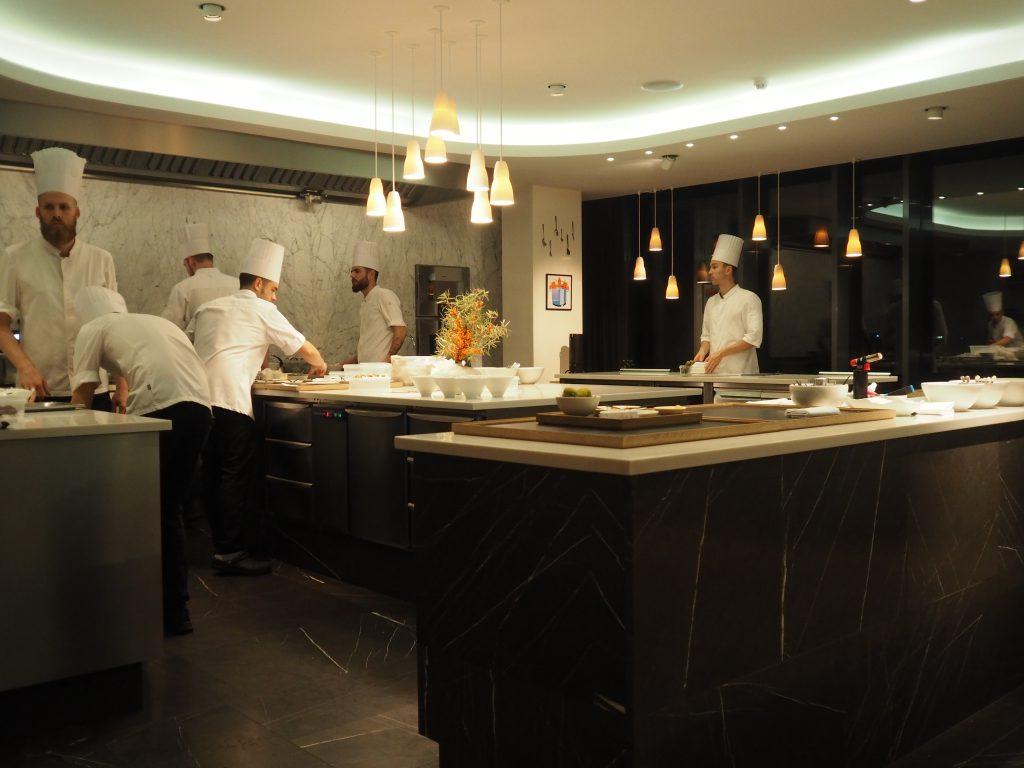 Kjøkken i åpent landskap