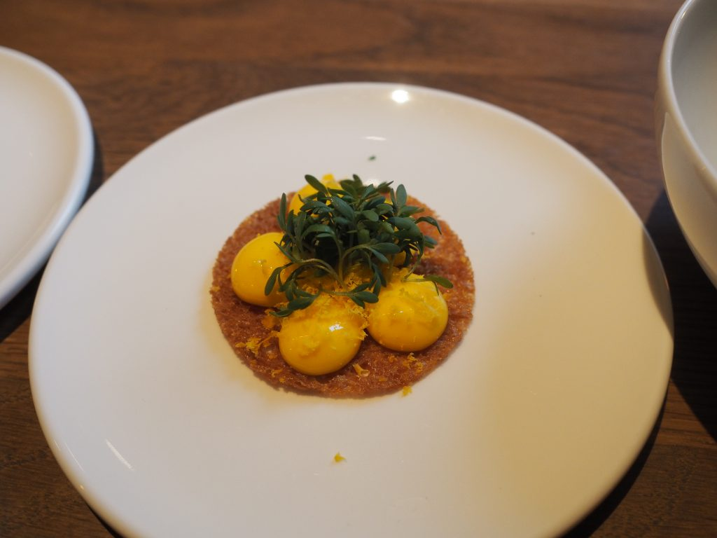 Appetittvekker: Toast med eggekrem