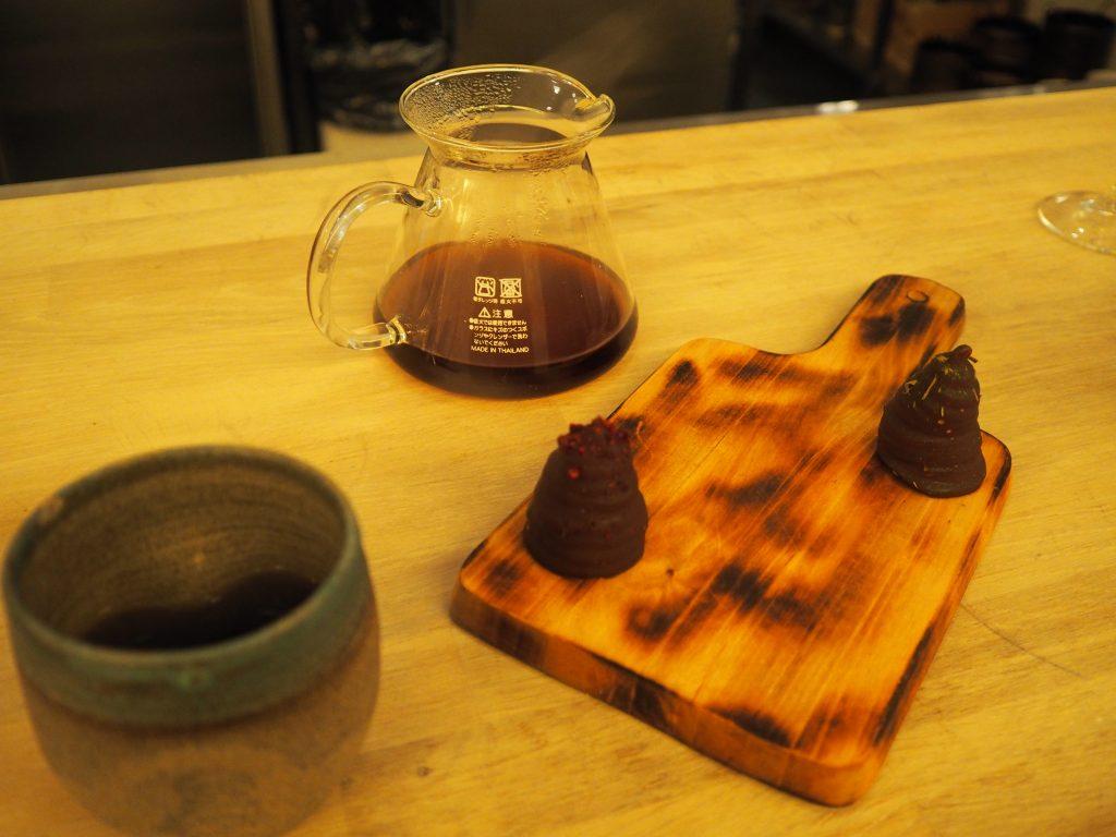 Kaffe og petit four