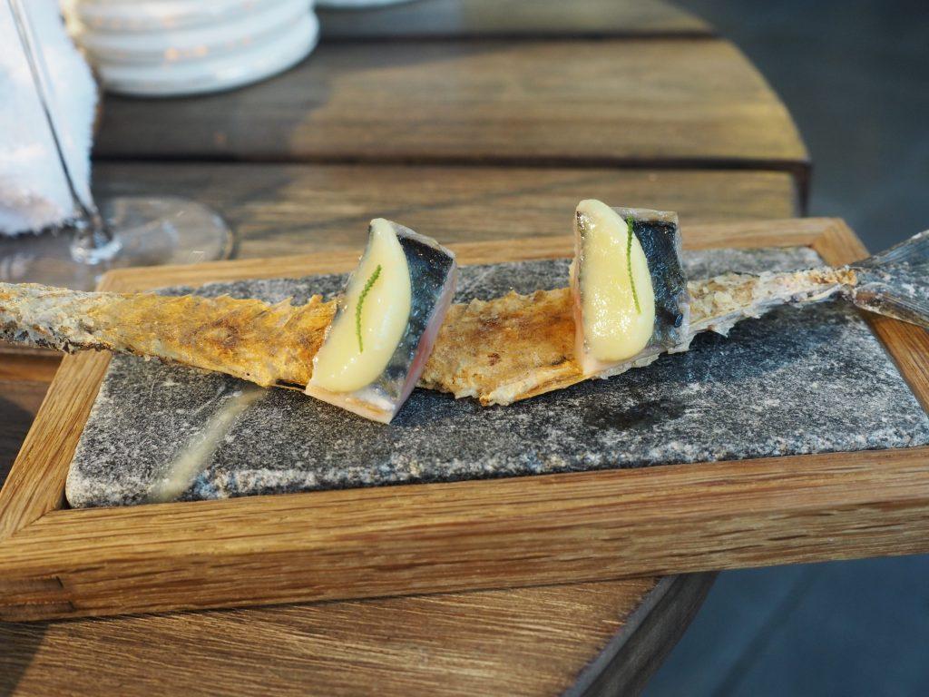 Makrell, sitron og oliven