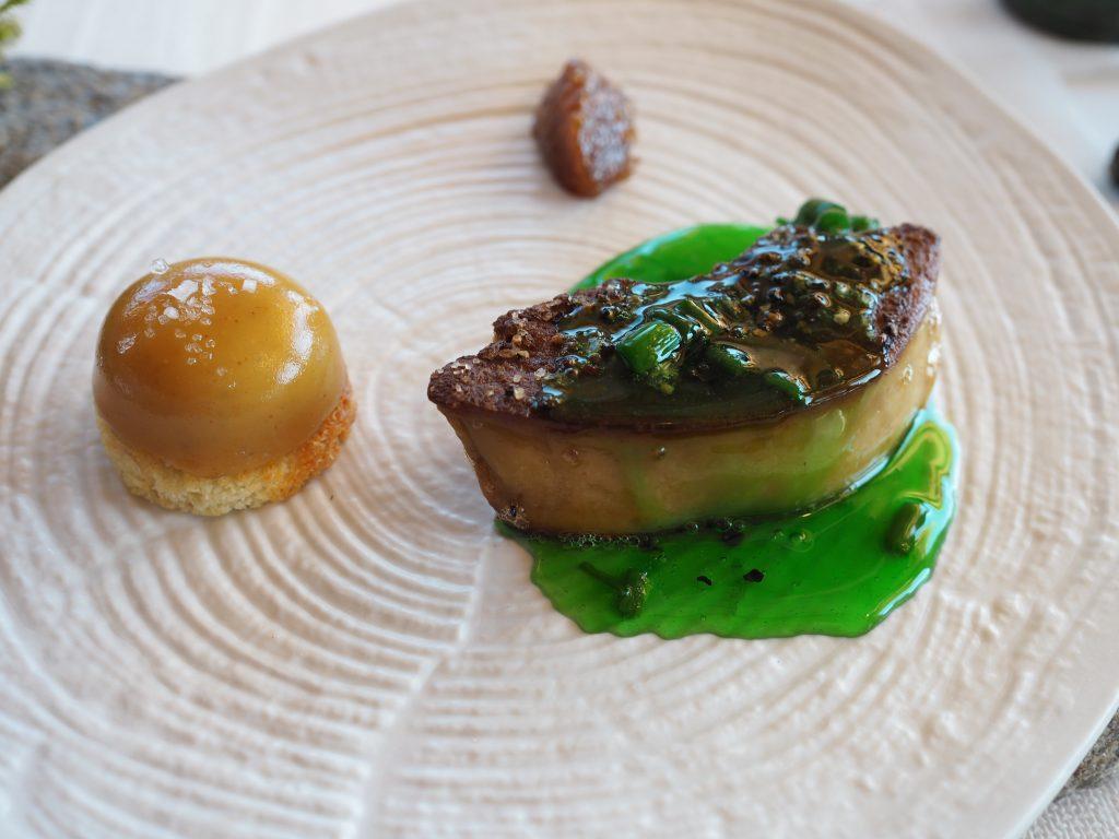 Foie gras, kastanje og ukjent fjellurt