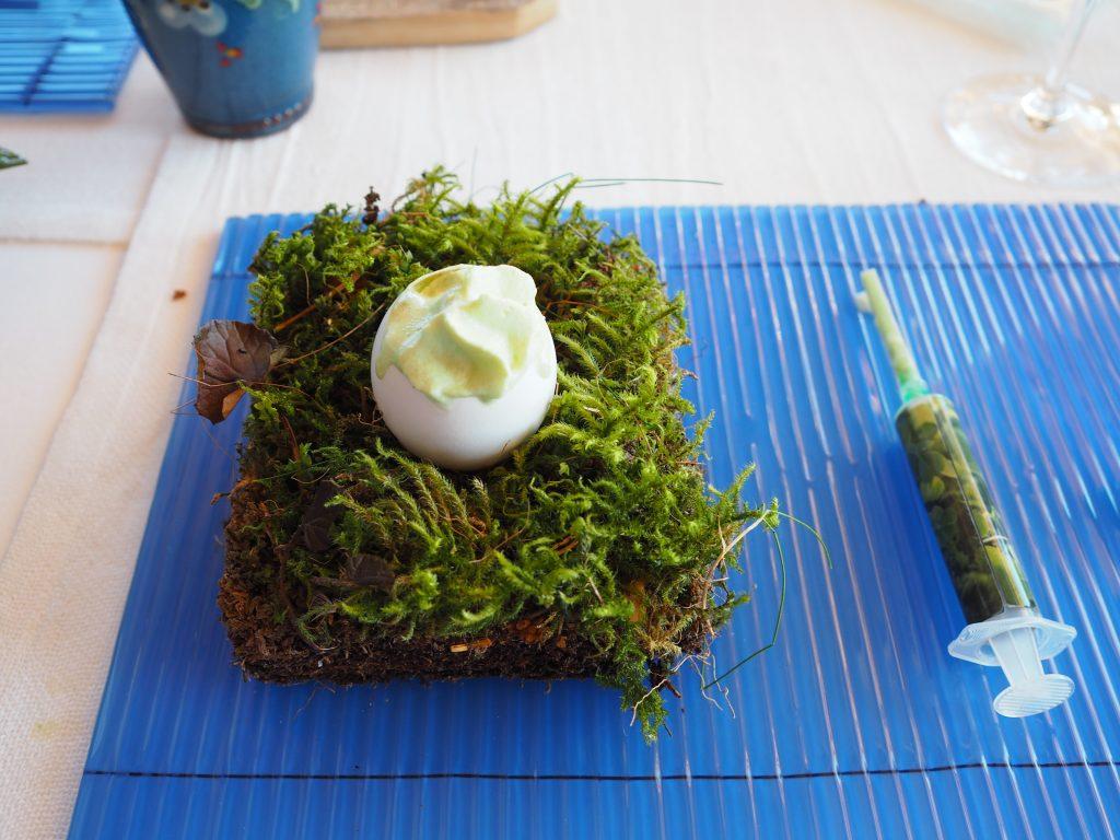 Egg, bjørnekjeks og gjøksyre