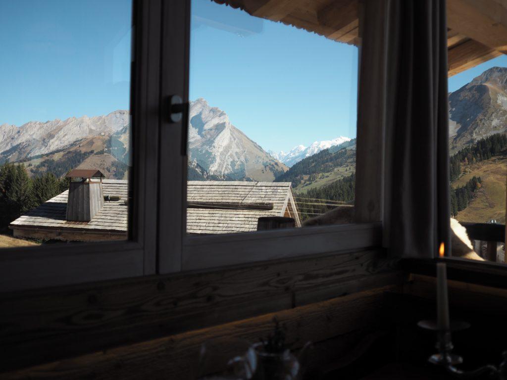 Utsikt fra bordet