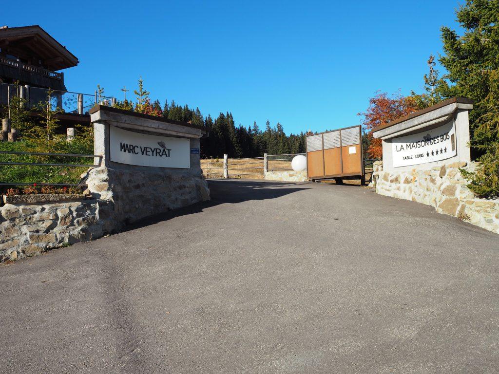 Portalen på La Maison des Bois
