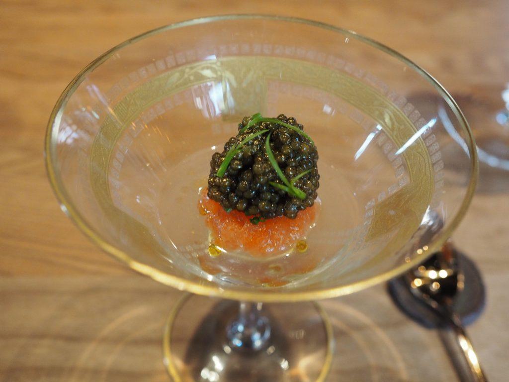 Fjellrøye og kaviar