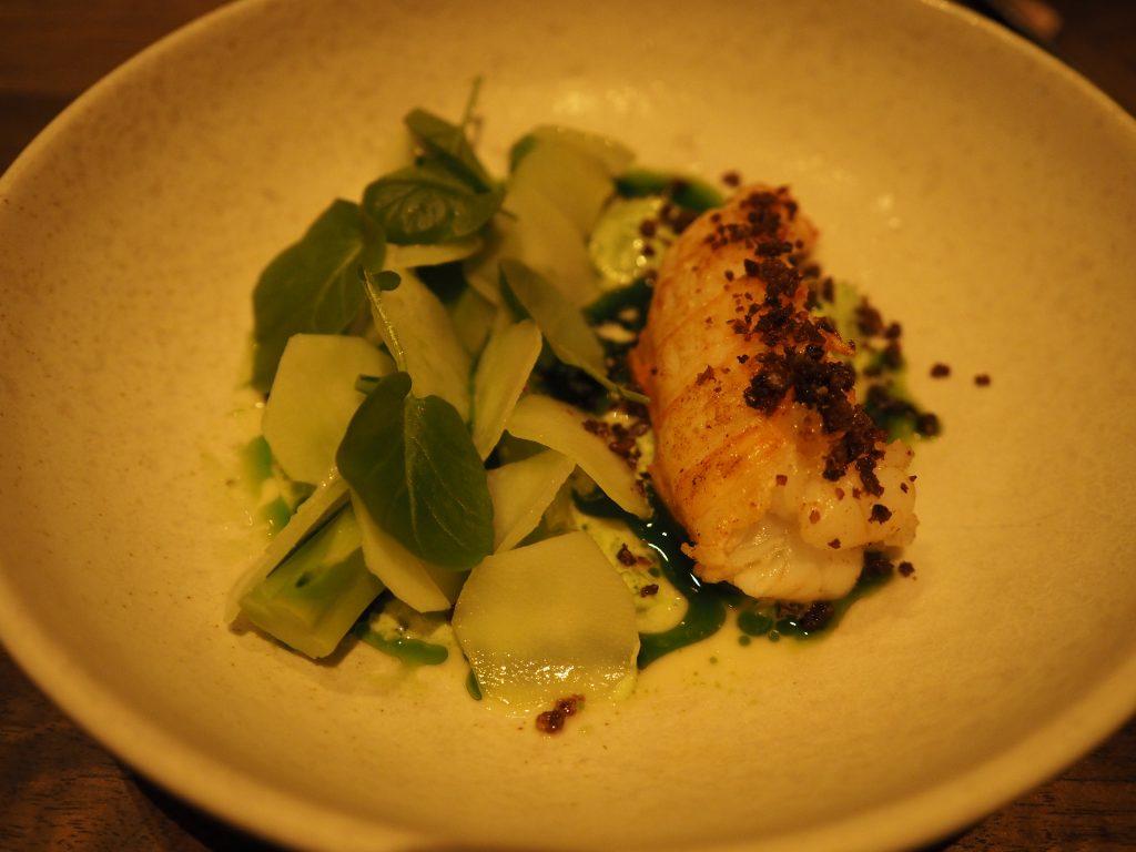 Sjøkreps, purre og brokkoli