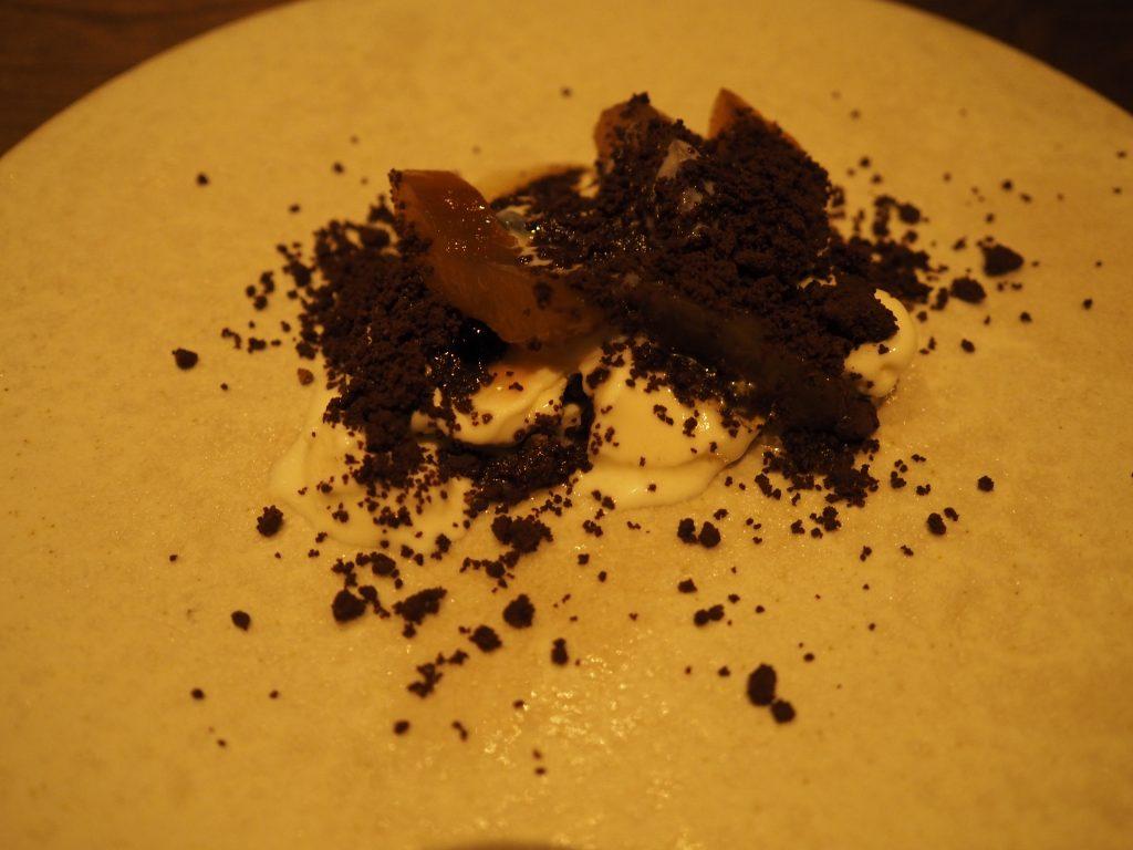 Plomme, melk og kakao