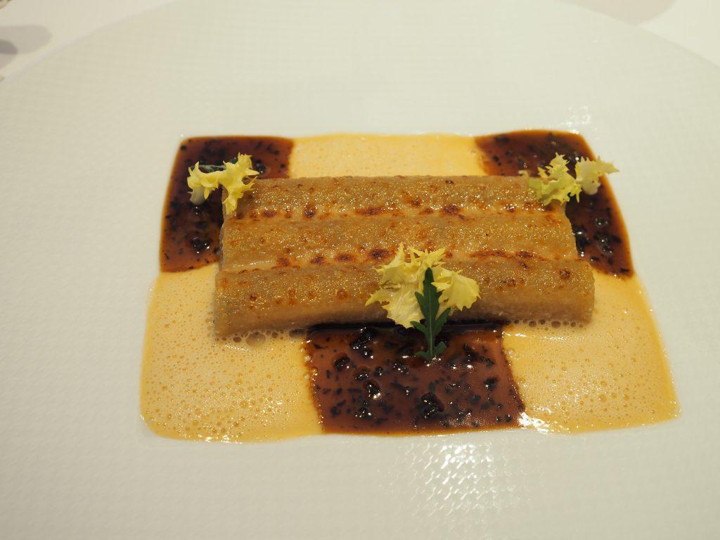 Artisjokk, parmesan, trøffel og foie gras