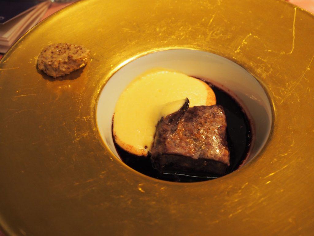 Rødkål, potet og sennep