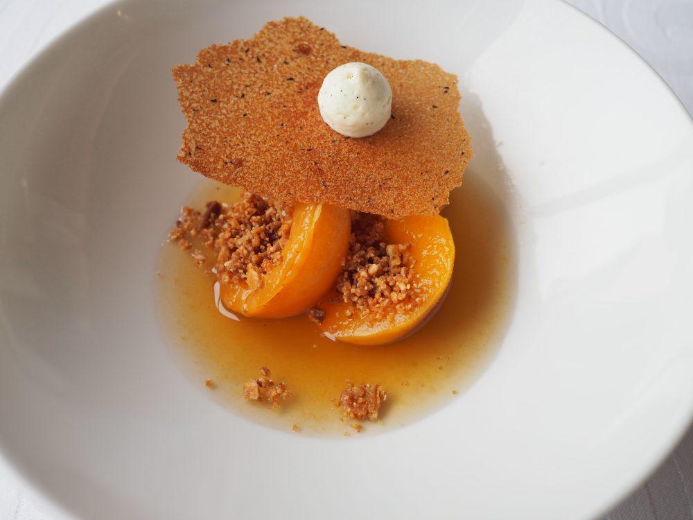 Aprikos i krydderlake